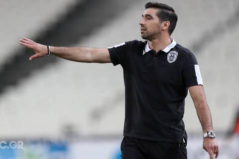O Tecnico  Abel Ferreira, do PAOK GRECIA. (Foto:@PAOKFOOTBALL  no Facebook)