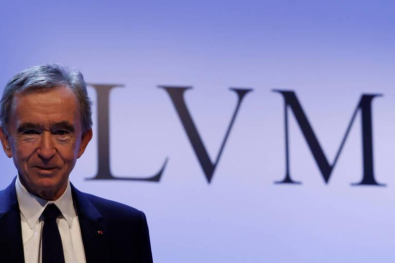 Presidente da Louis Vuitton se torna o mais rico do mundo por algumas horas