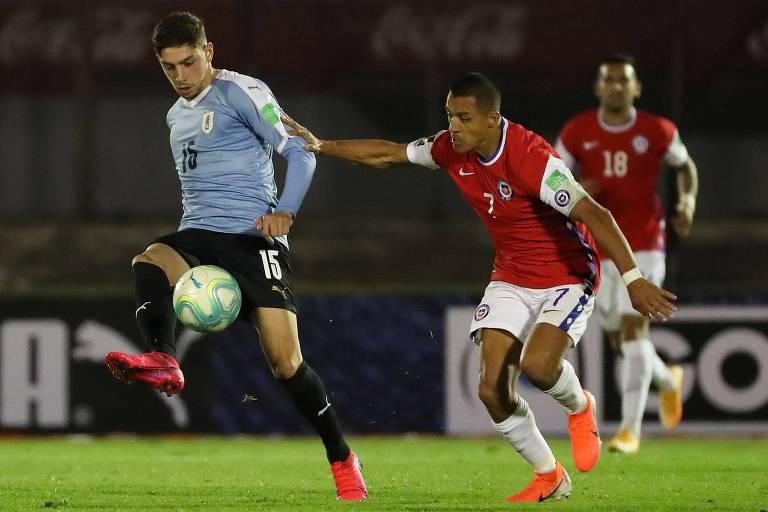 Aos 22, Valverde já é titular da seleção uruguaia comandada por Óscar Tabárez