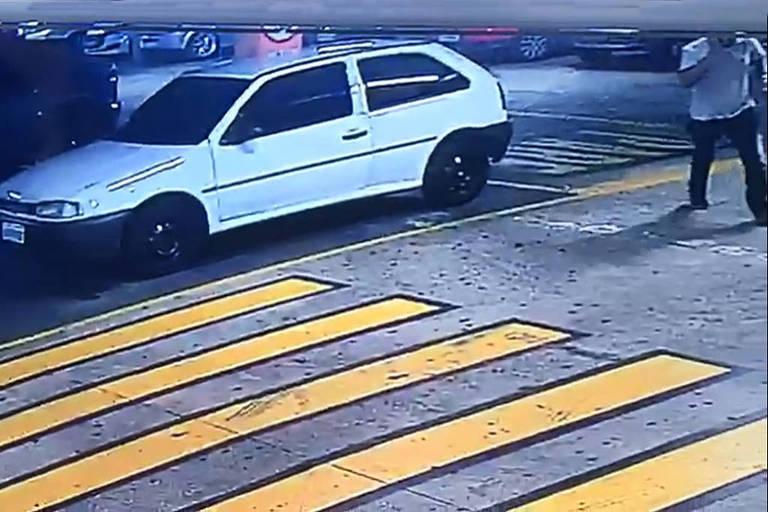Empresário é suspeito de atirar contra ex-mulher e de se matar em estacionamento de shopping