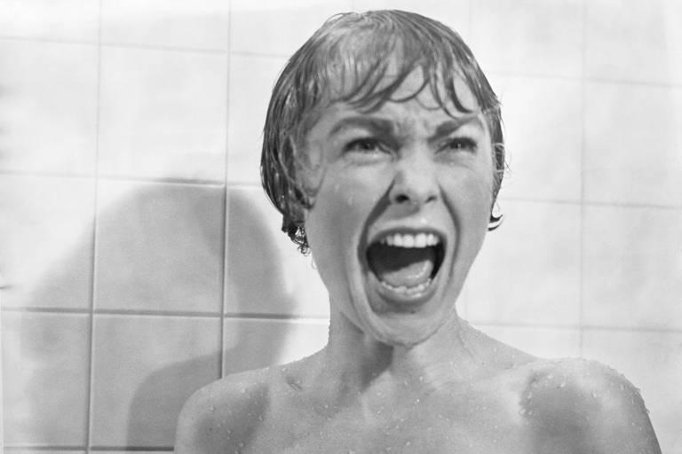"Janet Leigh em ""Psicose"" (1960)"