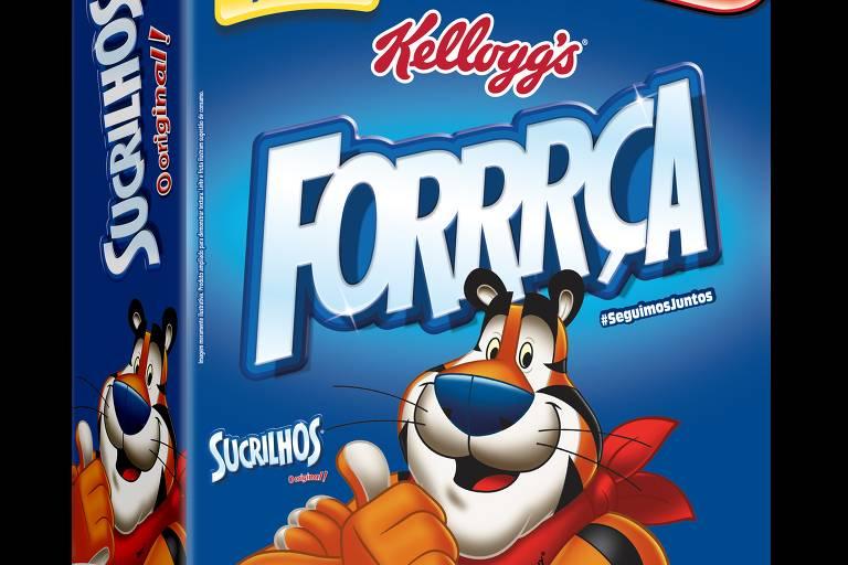 Folha Top of Mind - Alimentação - Cereal Matinal - Sucrilhos Kelloggs