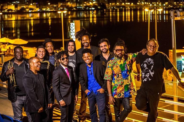 A banda Banda Black Rio