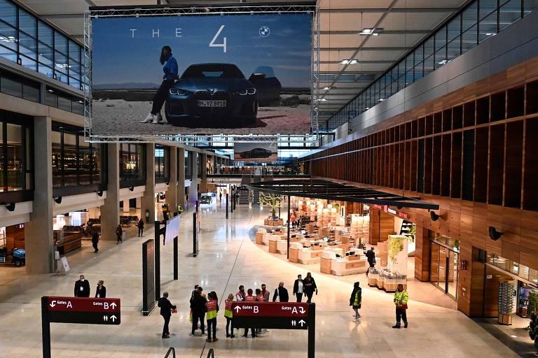 Veja fotos do novo aeroporto de Berlim