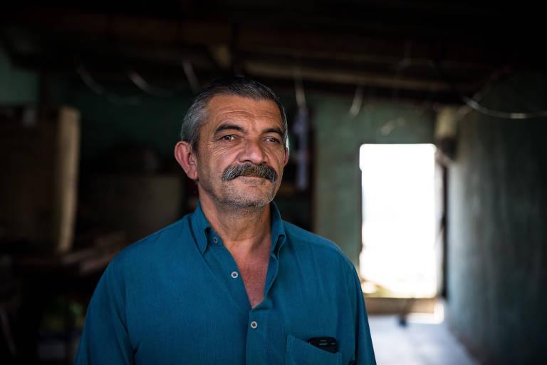 Josinaldo Ladislau dos Santos tem 58 anos e há quatro não consegue emprego formal