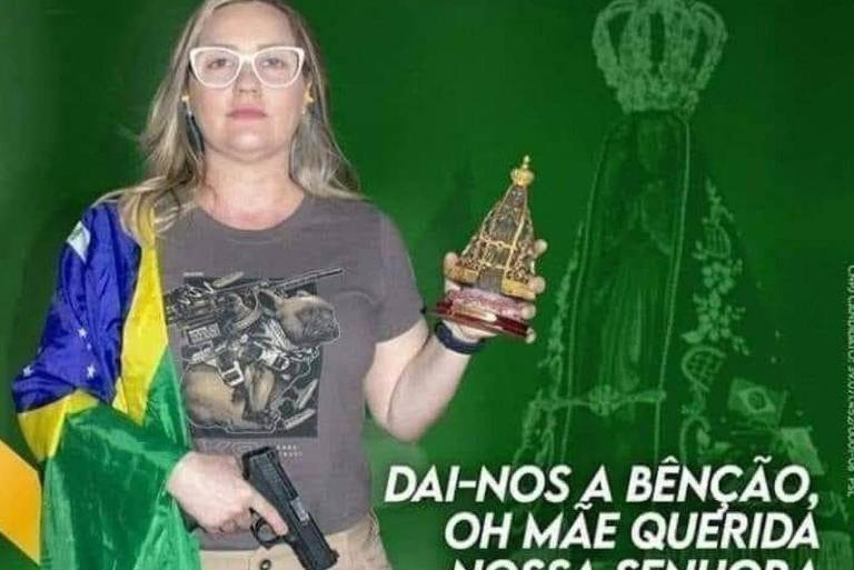 A Candidata a vereadora de Campo Grande (MS) pelo PSL Juliana Gaioso