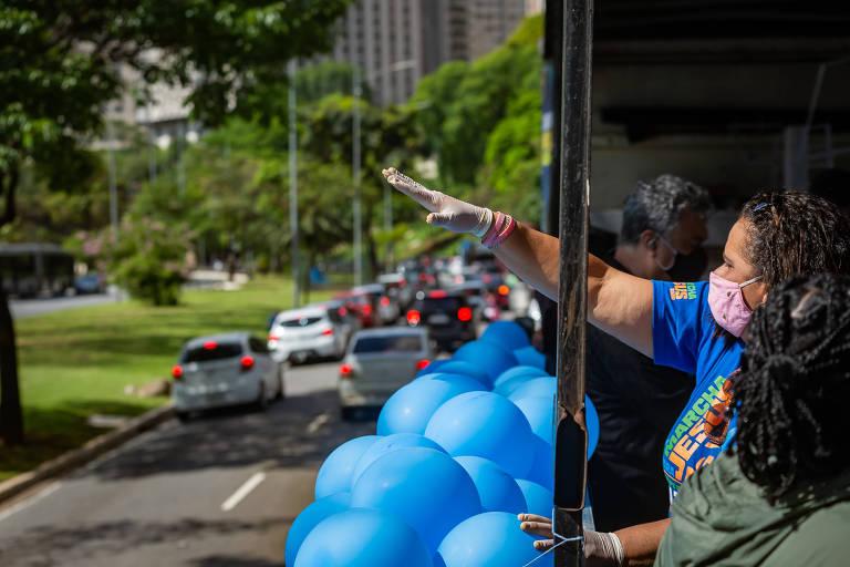 Marcha para Jesus 2021 terá carreata solidária percorrendo as ruas da cidade; posto para arrecadar doações ficará na Assembleia Legislativa do Estado de São Paulo, no Ibirapuera, que estará de portas abertas a partir das 10h