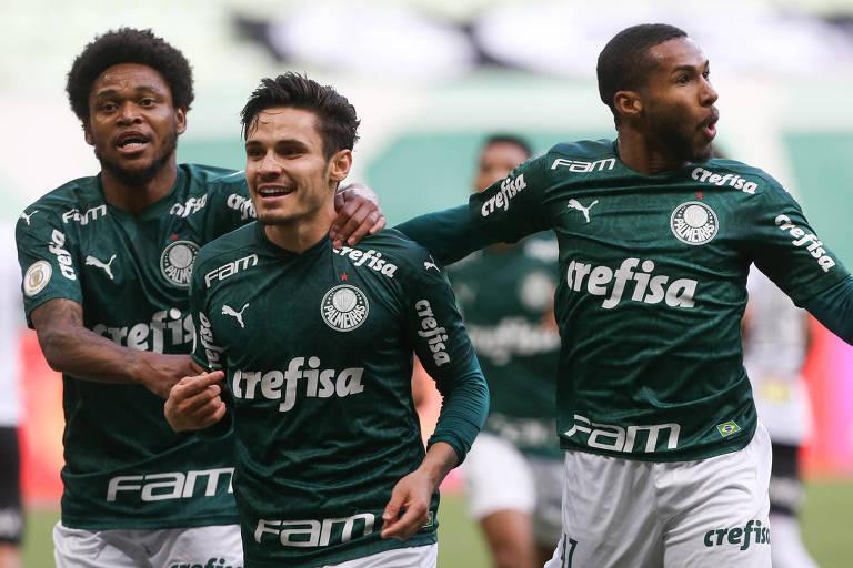 Palmeiras goleia Atlético-MG de Sampaoli no Brasileiro