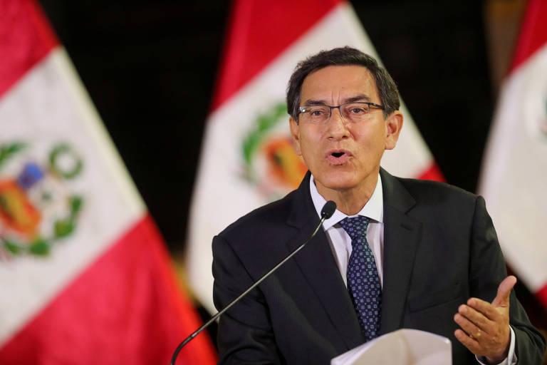 Congresso do Peru aprova impeachment de presidente por 'incapacidade moral'