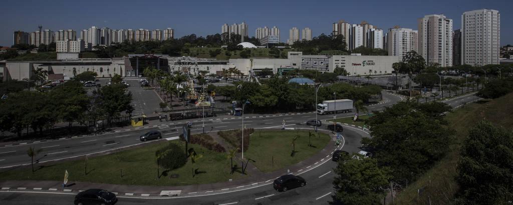 O município de Taboão da Serra, na Grande SP