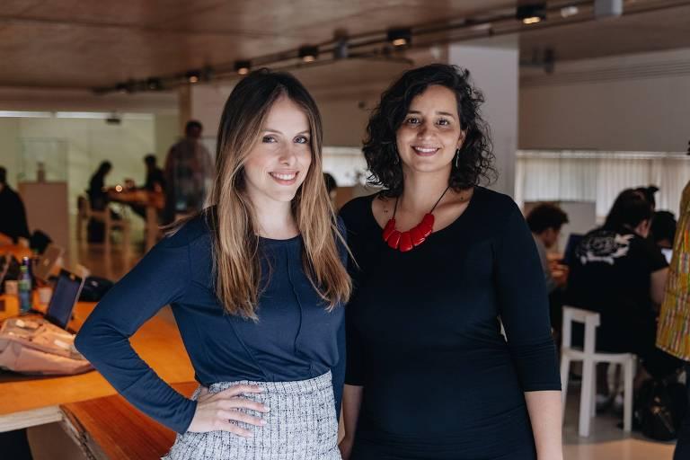 Paula Crespi e Flavia Deutsch Goffryd, fundadoras da Theia