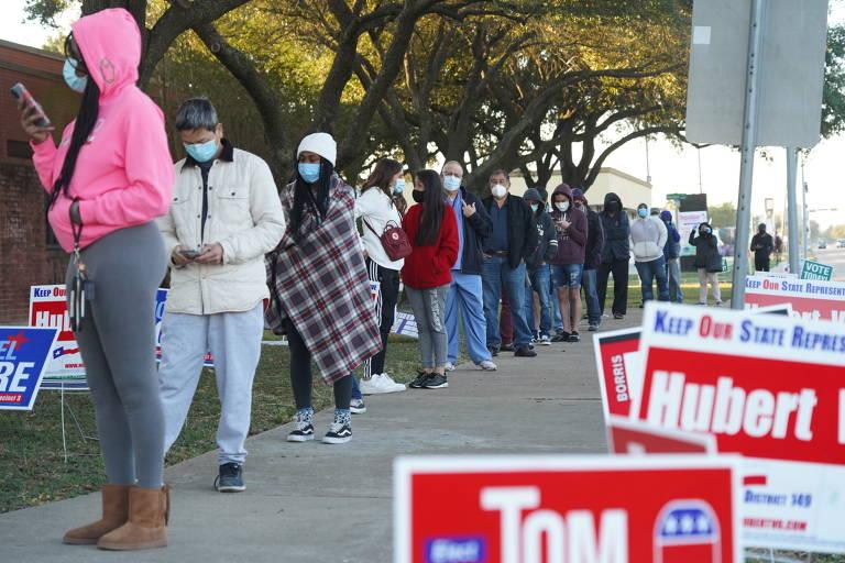 EUA vão às urnas em meio à pandemia; veja fotos de hoje