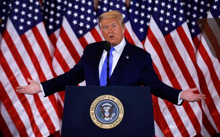 Campanha de Biden diz que declaração de Trump é 'ultrajante' e que apuração 'não vai parar' - 04/11/2020 - Mundo - Folha