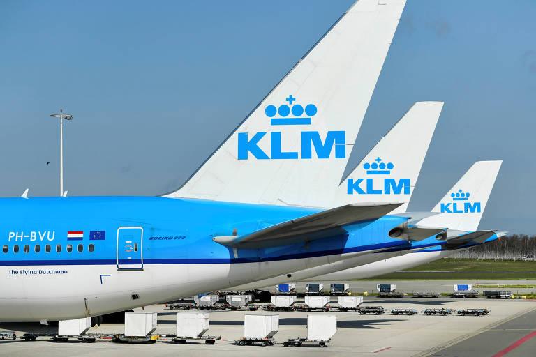 Governo holandês aprova plano de resgate para companhia aérea KLM