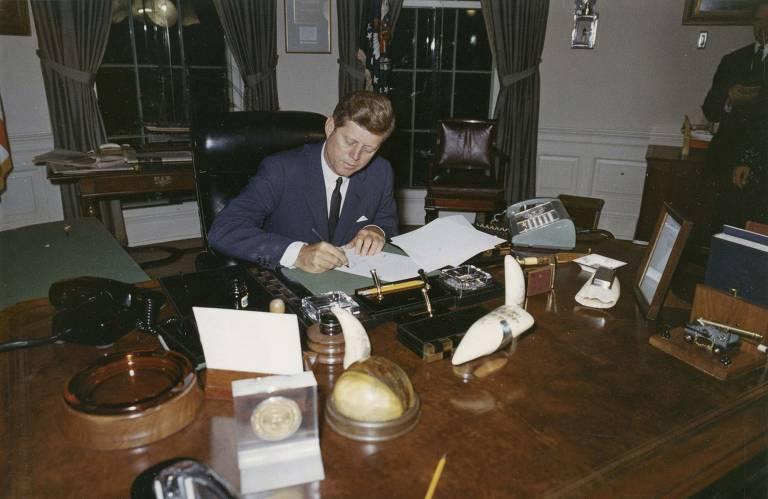 A trajetória de John F. Kennedy