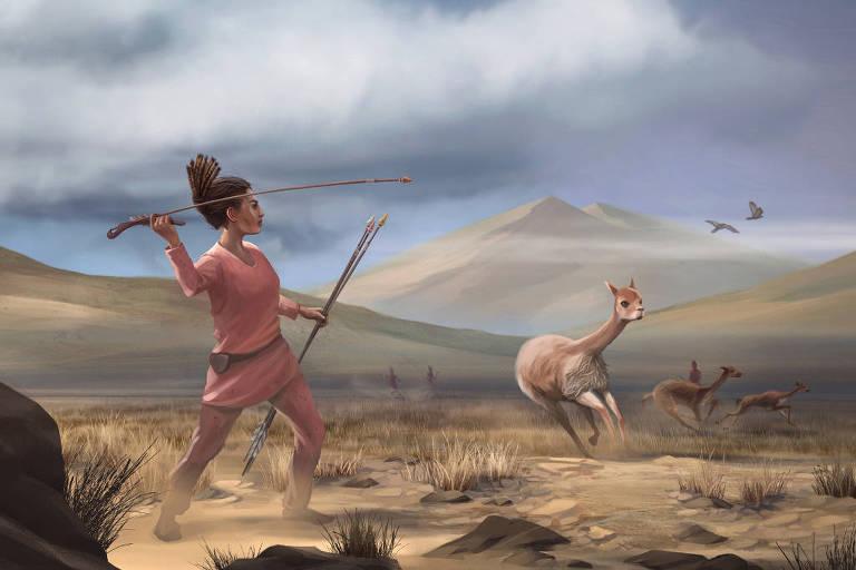 Garota pode ajudar a desbancar a tese de que só homens eram grandes caçadores da pré-história
