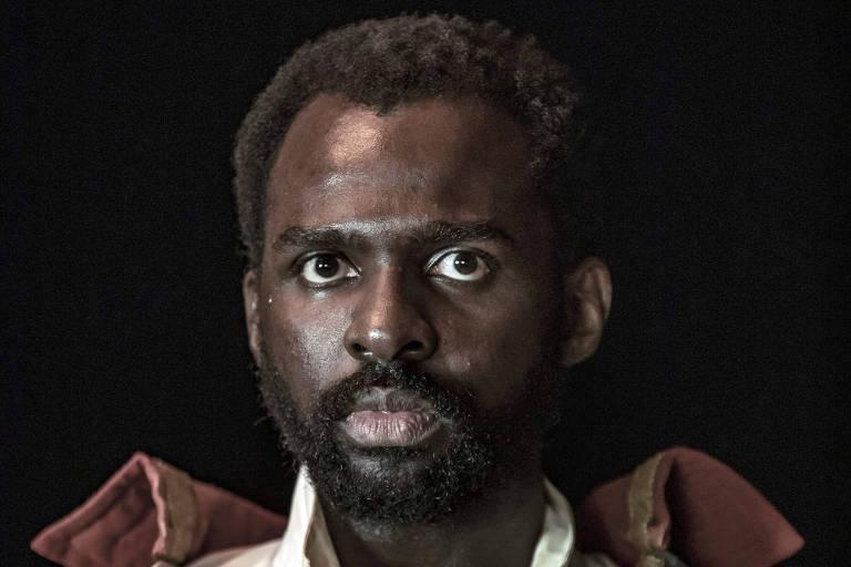 Izak Dahora como Toussaint Louverture no especial 'Falas Negras'