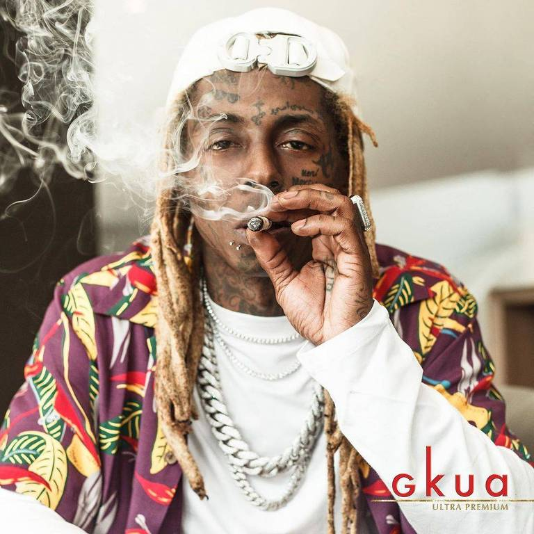 Imagens do rapper Lil Wayne
