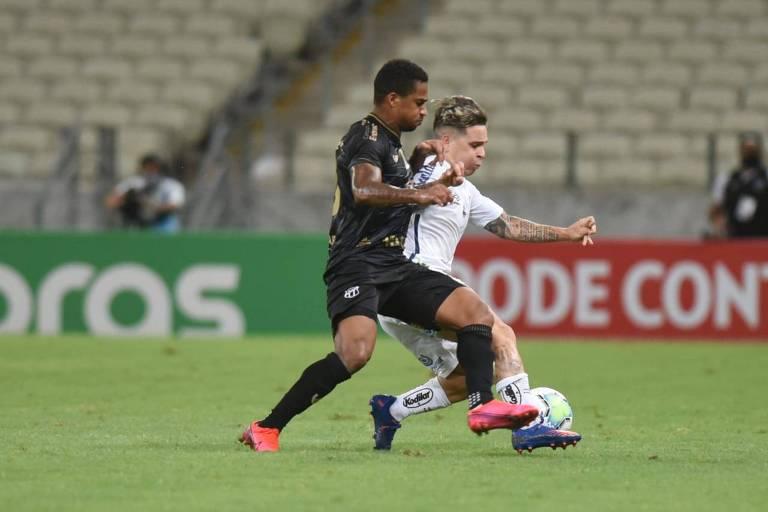 Santos cai diante do Ceará na Copa do Brasil e se complica nas finanças