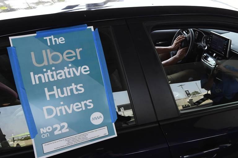 Uber e Lyft avançam na reformulação de leis trabalhistas dos EUA