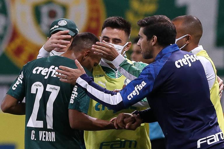 Palmeiras bate Bragantino na estreia de Abel Ferreira e avança na Copa do Brasil