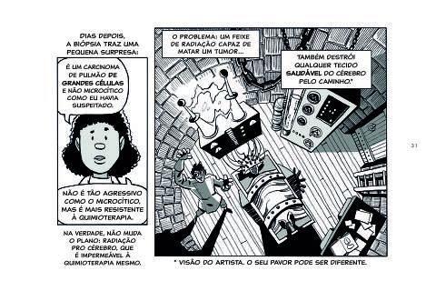 Premiado com o Eisner, livro em que o quadrinista Brian Fies narra experiência da mãe com câncer de pulmão chega ao Brasil pela Darkside [[EXCLUSIVO CADERNO ESPECIAL SOBRE CÂNCER]]
