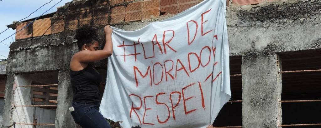 Moradores se organizam e pedem fim da truculência da polícia no Complexo do Viradouro, em Niterói, região metropolitana do Rio