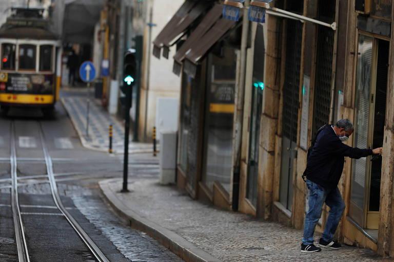 A cidade de Lisboa durante a quarentena