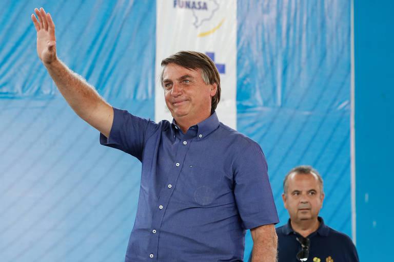 Presidente Jair Bolsonaro participou, em Piranhas (AL), na quinta-feira (5)