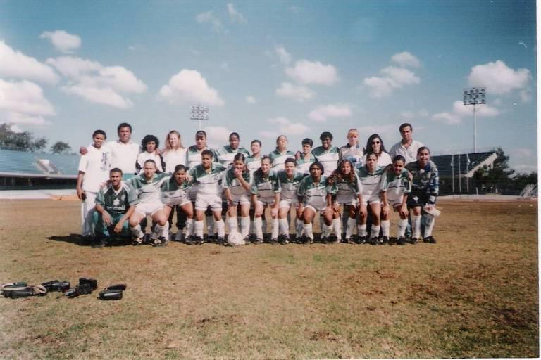 Time do Palmeiras que disputou o Campeonato Paulista Feminino em 1997