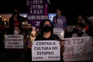 MARIANA FERRER / ESTUPRO / PROTESTO / STF / JUSTICA