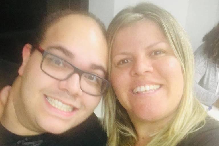 Caio César Nunes Oliveira (1986-2020) e a esposa Mariana Sak Morán Oliveira