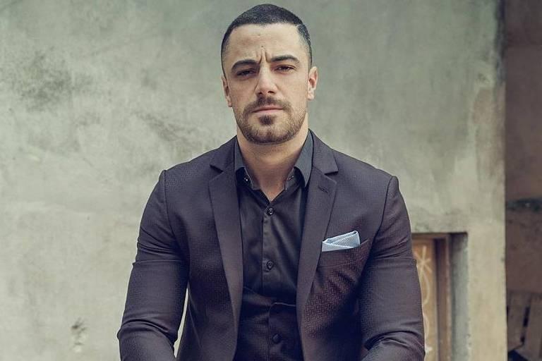 O ator Felipe Titto