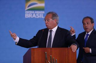 BOLSONARO / GUEDES / CAIXA / ECONOMIA