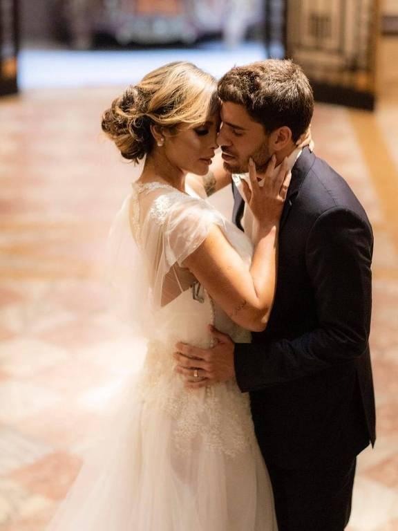 Carol Nakamura e Guilherme Leonel