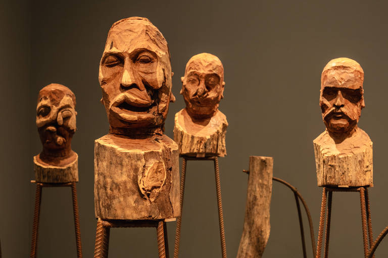 Rostos mutilados de Kader Attia espelham a vida de agora e de antes