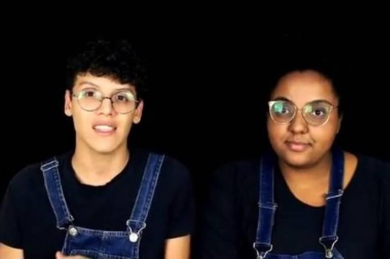 Flor e Junior revelaram que vídeo que viralizou foi uma encenação para divulgar um projeto deles