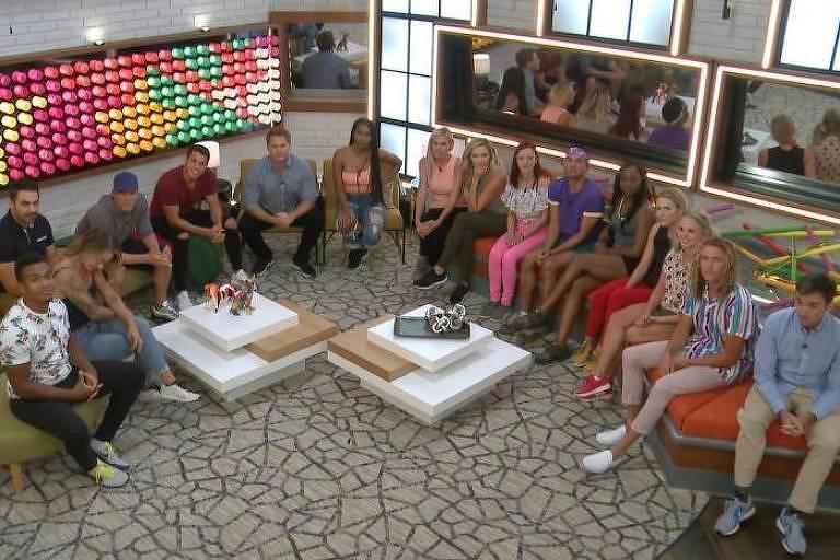 Elenco do Big Brother EUA 22, que estreou em agosto