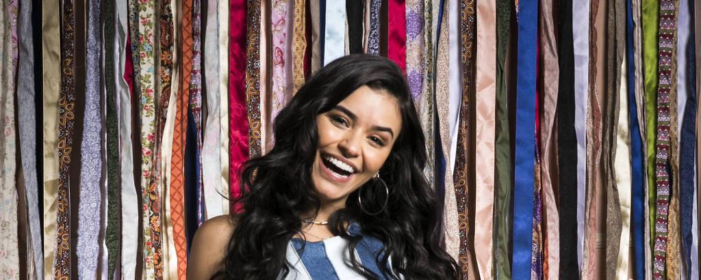Talita Younan como a K1, de 'Malhação: Viva a Diferença'
