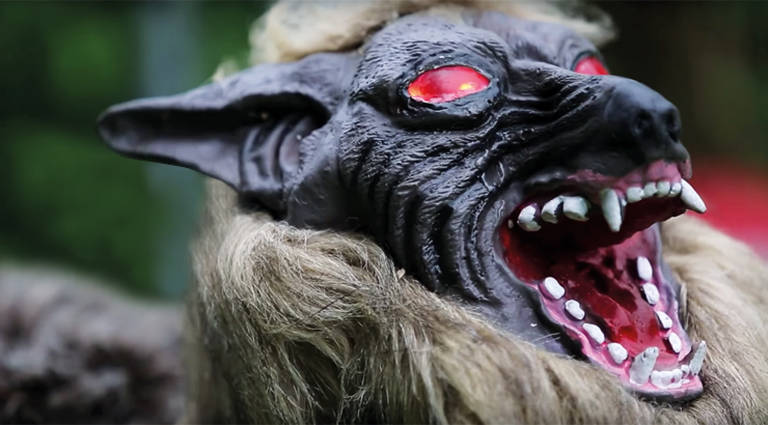 Robô 'Lobo Monstruoso' para deter ursos selvagens