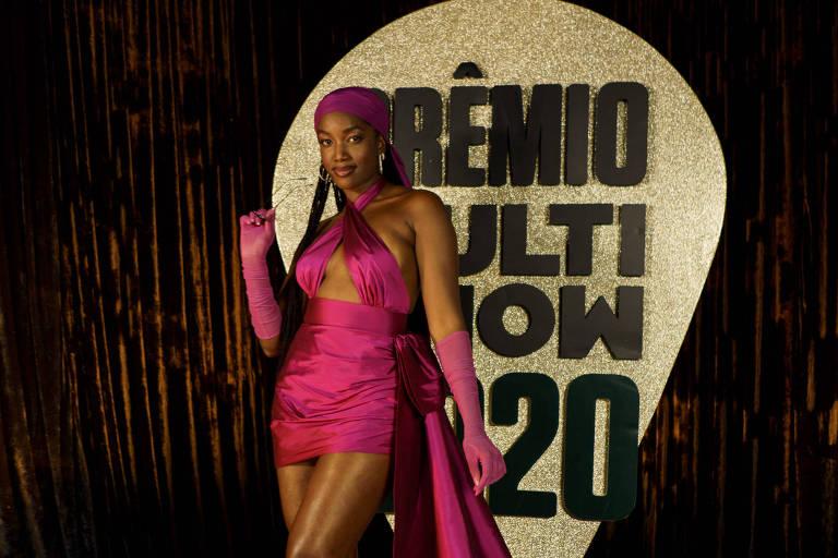 Iza no Prêmio Multishow 2020