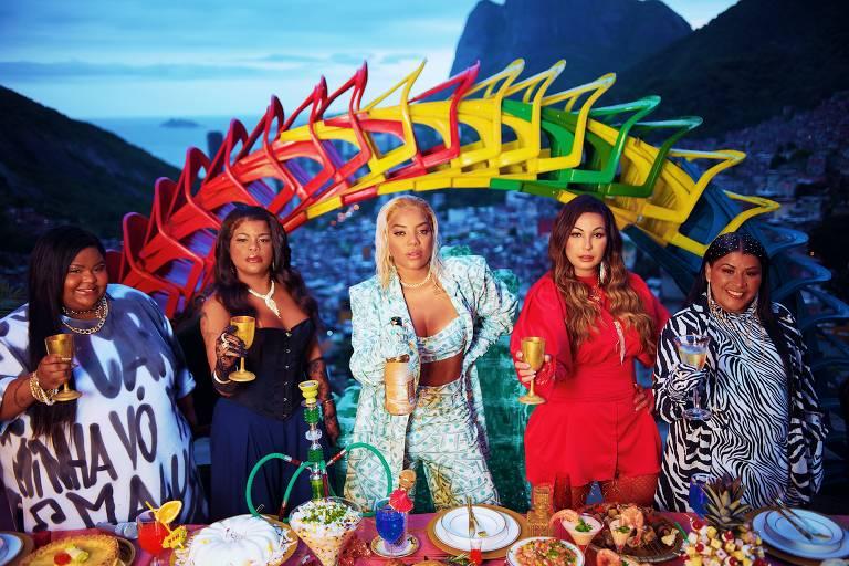 Ludmilla fez a gravação do clipe, Rainha da Favela