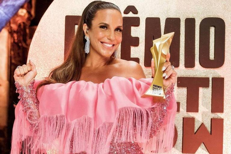 Ivete Sangalo foi escolhida como Cantora do Ano no Prêmio Multishow 2020