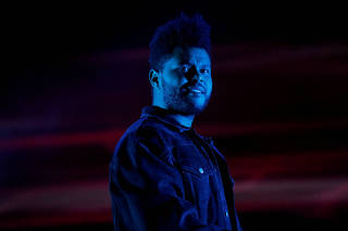 FILE PHOTO: The Weeknd performs at the Global Citizen Festival concert in Central Park in New York City