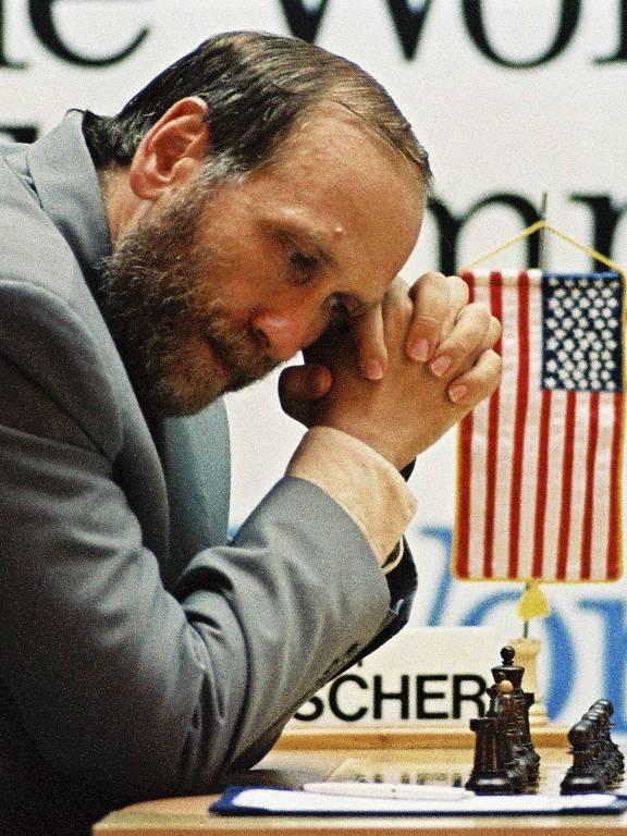 O enxadrista americano Bobby Fischer