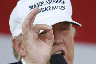 Donald Trump Campaigns Across Florida