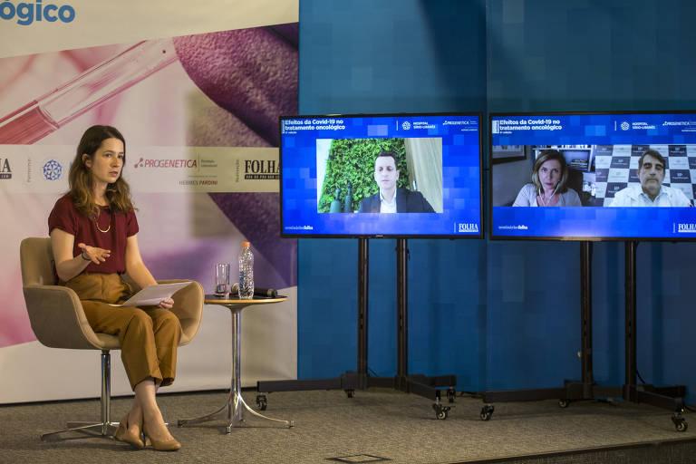 Veja imagens do 5º seminário sobre câncer