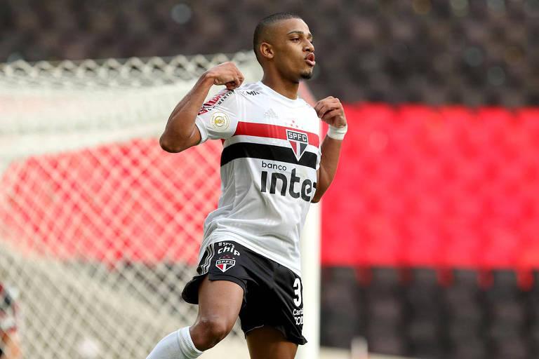 O atacante Brenner tem sido o grande destaque e artilheiro do São Paulo nesta temporada
