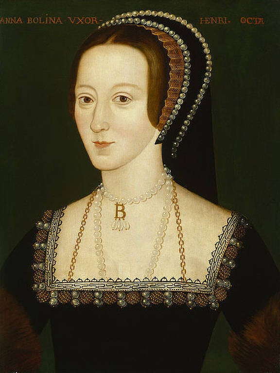 Ana Bolena, que foi casada com o rei Henrique 8º