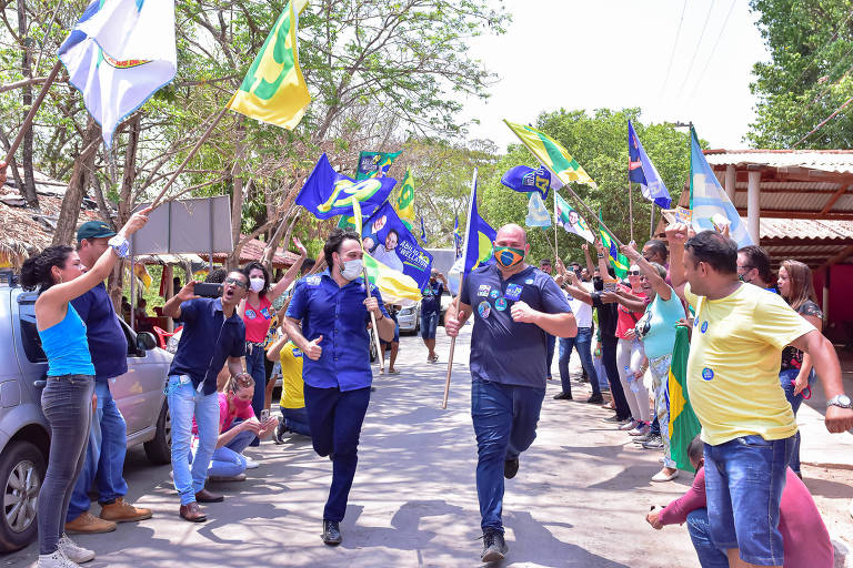 O vereador Abílio Júnior, candidato a prefeito de Cuiabá
